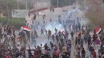قتلى وجرحى في مواجهات بين متظاهرين وقوات الأمن العراقية