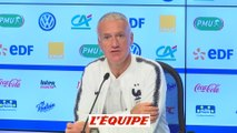 Deschamps «J'ai beaucoup de respect pour Joachim Löw» - Foot - Ligue des nations - Bleus