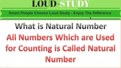 What is Natural Number ( Learn with Examples ) | Natural Number