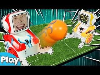 마지막 한방 승부차기로 결정한다 촬영친구VS캐빈 로봇슈팅 축구의 승자는? l CarrieTV_Play