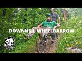 "Building a Downhill MTB ""Endurbarrow"" for Trail Building"