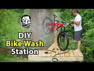 DIY Mountain Bike Wash Station