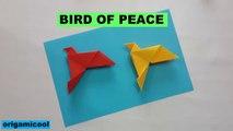 BIRD OF PEACE ORIGAMICOOL | ORIGAMI BIRD OF PEACE | ORIGAMICOOL | EASY TUTORIALS | HOW TO MAKE PAPER BIRD OF PEACE | BIRD OF PEACE ORIGAMI | TUTORIAL FACIL | COMO HACER UN ORIGAMI DE PALOMA DE LA PAZ