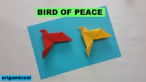 BIRD OF PEACE ORIGAMICOOL ,  ORIGAMI BIRD OF PEACE ,  ORIGAMICOOL ,  EASY TUTORIALS ,  HOW TO MAKE PAPER BIRD OF PEACE ,  BIRD OF PEACE ORIGAMI ,  TUTORIAL FACIL ,  COMO HACER UN ORIGAMI DE PALOMA DE LA PAZ