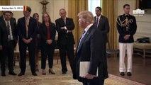 Trump Slams NYT Anonymous Op-Ed As 'Gutless'