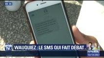 Un SMS de Laurent Wauquiez aux lycéens d'Auvergne Rhône-Alpes fait polémique