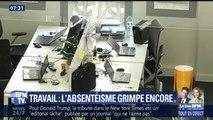 Plus de 17 jours par an en moyenne: les Français, champions européens de l'absentéisme au travail