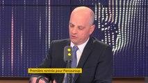 """Élèves sans affectation parcoursup : """"Il reste 100 000 places disponibles pour 3000 personnes """", déclare Jean-Michel Blanquer"""