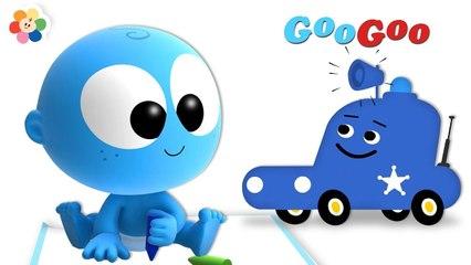 GooGoo y su Amiguito El Coche de Policía | BabyFirst Español