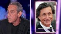 """Thierry Ardisson règle ses comptes avec l'ancien patron de FTV, """"un escroc"""""""