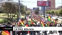 Miles de cultivadores de coca protestan contra Evo Morales