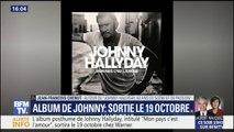 """""""Ce regard de Johnny nous interpelle"""", commente Jean-François Chenut en découvrant la pochette de l'album posthume de Johnny Hallyday"""
