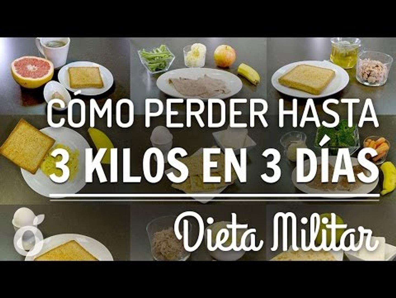 DIETA MILITAR   MILITARY DIET PLAN   Kiwilimón