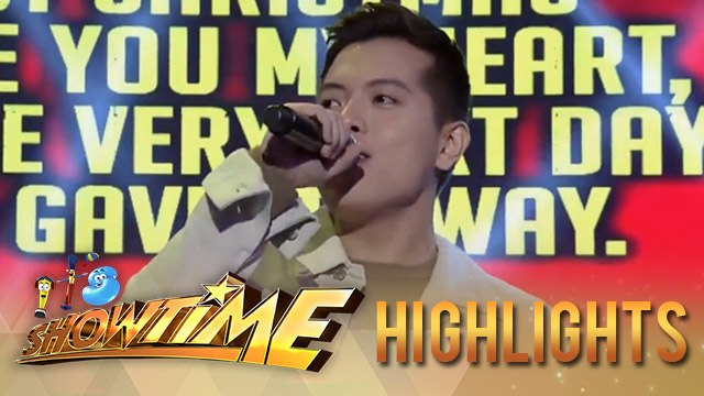 "It's Showtime Singing Mo 'To: Jason Dy performs ""Last Christmas"""