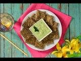 Galletas de Chía con Dip de Aguacate Vegano | Chips Veganas para Snack Saludable