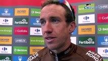 """Tour d'Espagne 2018 - Alexandre Geniez, a chuté après l'arrivée et sa victoire sur la 12e étape : """"Ça restera l'anecdote du jour !"""""""