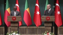 Erdoğan-Talon ortak basın toplantısı - Talon (1) - ANKARA