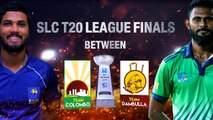 Team Colombo will battle it out against Team Dambulla for the SLC T20 League   2nd September RPICS,Colombo
