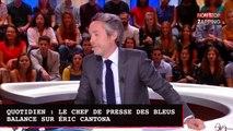 Quotidien : le chef de presse des Bleus balance sur Éric Cantona (vidéo)