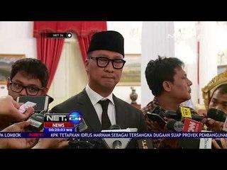 Agus Gumiwang Dilantik Presiden Jokowi Mengisi Posisi Menteri Sosial - NET 24