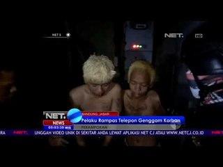 Usai Membegal,2 Pemuda Kota Bandung Diamuk Warga-NET5