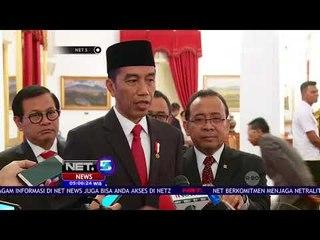 Jokowi Lantik Agus Gumiwang Gantikan Idrus Marham-NET5