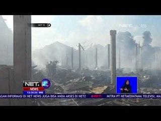 Kebakaran Pasar Pon Ludeskan Ratusan Kios-NET12