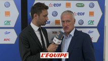 Deschamps «Un match cohérent» - Foot - L. Nations - Bleus
