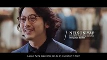 Be inspired when you #FlySQ. Watch as Nelson Yap, founder and managing director of menswear label Benjamin Barker, shares the sources of inspiration for his des