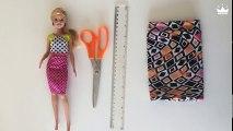 Diy american girl doll clothes no sew no glue
