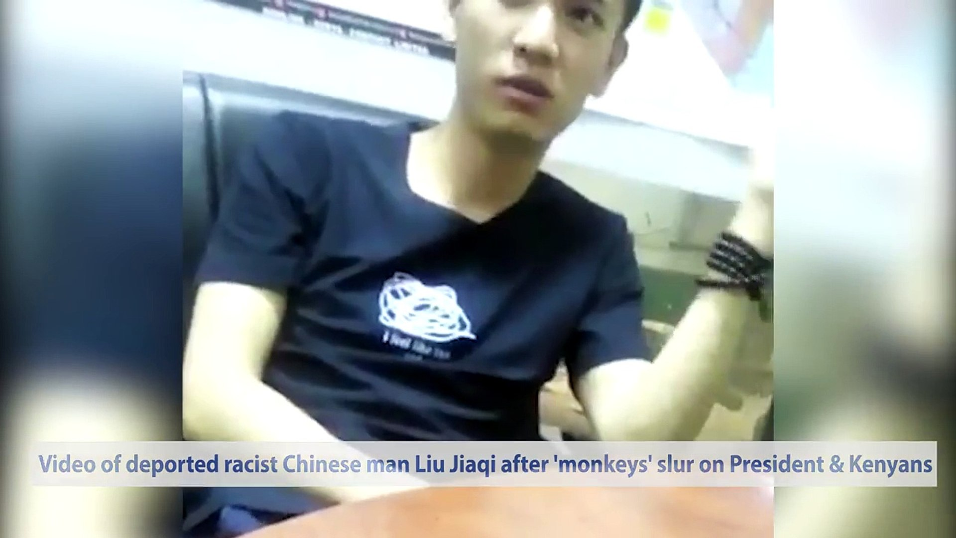 Kenya Deports Racist Chinese Man After Calling Kenyans & The President Monkeys