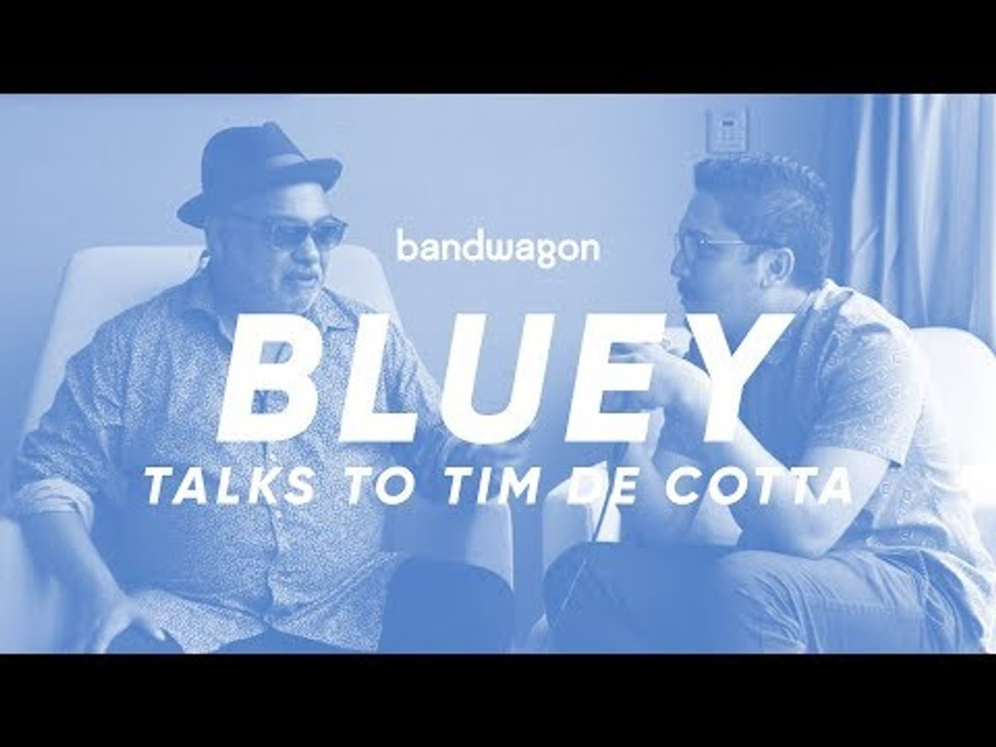 Tim De Cotta has a conversation with Bluey about football, Incognito and his childhood dream band