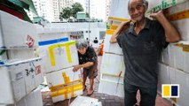 A day in the life of a Hong Kong cardboard collector