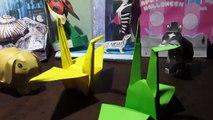 Handmade crane easy   origami crane   diy crane Grue à la main facile   grue d'origami   bricolage