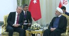 Üçlü Suriye Zirvesi Öncesi Ruhani İle Görüşen Erdoğan Şimdi Putin'le Görüşüyor