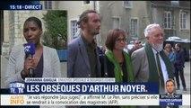"""""""Je suis très fier de mon fils"""", le père d'Arthur Noyer s'est exprimé lors des obsèques du jeune caporal"""
