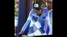 Enorme gamelle d'un cycliste de 70 ans au départ d'une course
