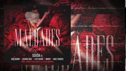Sousa - Maldades (Remix) ft. Bad Bunny, Lito Kirino, Brray, Alvaro Díaz & Mike Towers