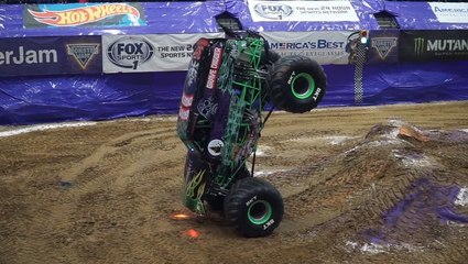 Monster Trucks Never Disappoint When It Comes To Stunts