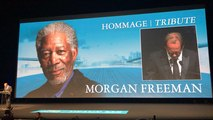 Vincent Lindon rend hommage à Morgan Freeman