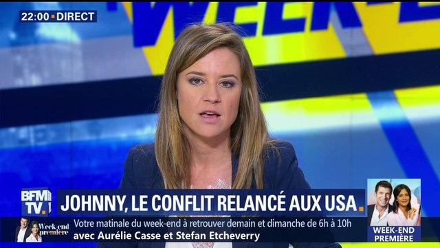 Succession de Johnny Hallyday: le conflit relancé aux États-Unis