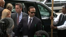 Ex-Trump Campaign Aide George Papadopoulos Arrives For Sentencing