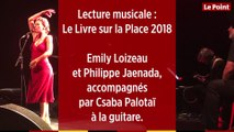 Le Livre sur la Place 2018 : lecture musicale avec Philippe Jaenada et Emily Loizeau