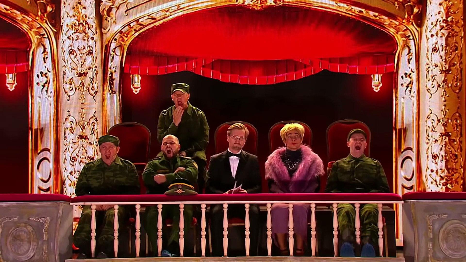 Солдаты в опере - Джентльмены без сдачи - Уральские Пельмени (2018)