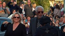 Morgan Freeman à Deauville