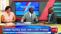 VIDEO: Simon Kaggwa Njala: Is government doing PR right? Josephine Mayanja Nkangi: No, they should stop talking at us, they should talk to us. Ofwono Opondo