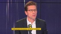 """Prélèvement à la source : ''C'est un chantier inutile"""" estime Geoffroy Didier (LR) qui estime que """"C'est une réforme de tuyauterie qui va compliquer la vie des gens""""."""