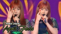 [HOT]Jimin Park -  April Fools (0401) , 박지민 - April Fools (0401) Show Music core 20180908