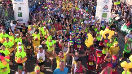 Marathon du Medoc 2018 - replay départ 1