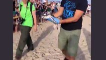 LIVE: We're back with  4 rescued sea turtles are being released back into the wild right now!